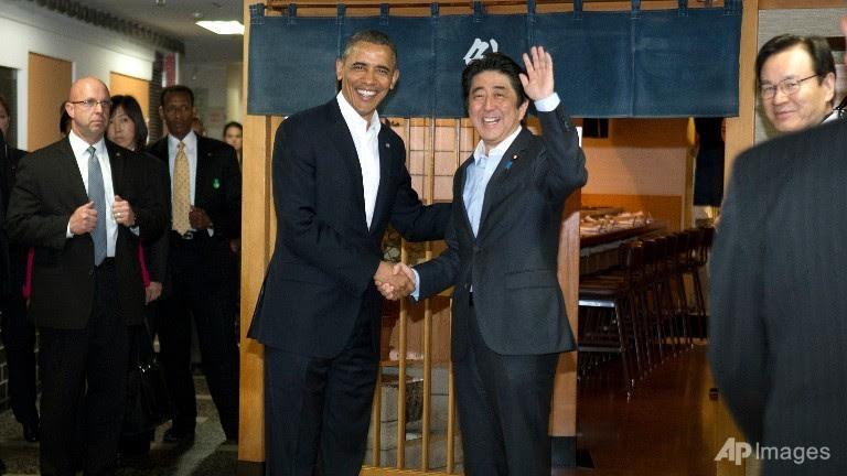 Obama, châu Á, đồng minh, Nhật Bản, Trung Quốc, xoay trục