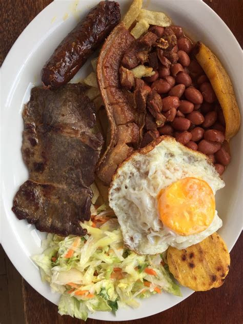 delicious high calorie colombian dish