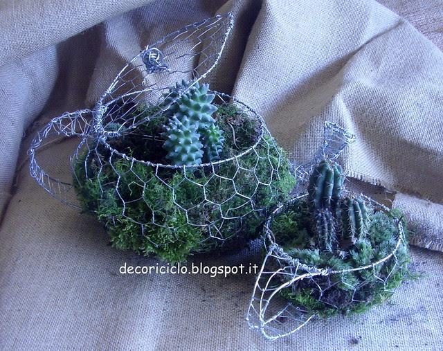 teiera e tazza cactus 2