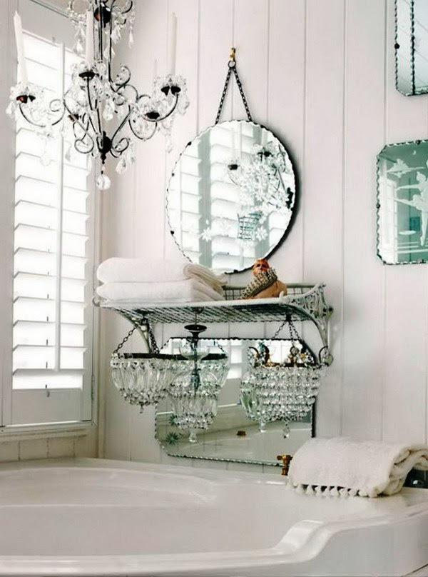 34+ Antique Bathroom Ideas Decorate Pictures