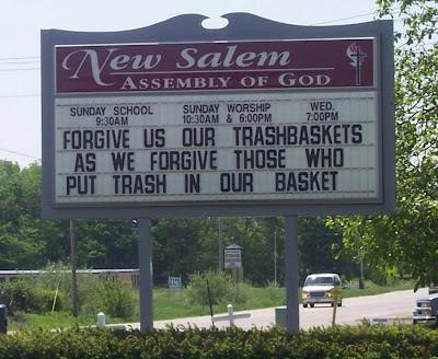 trashbasket religion