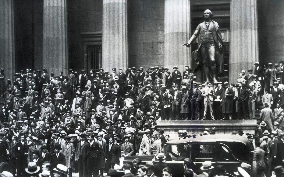 En 1929, la pire crise économique du XXe siècle démarre un ...