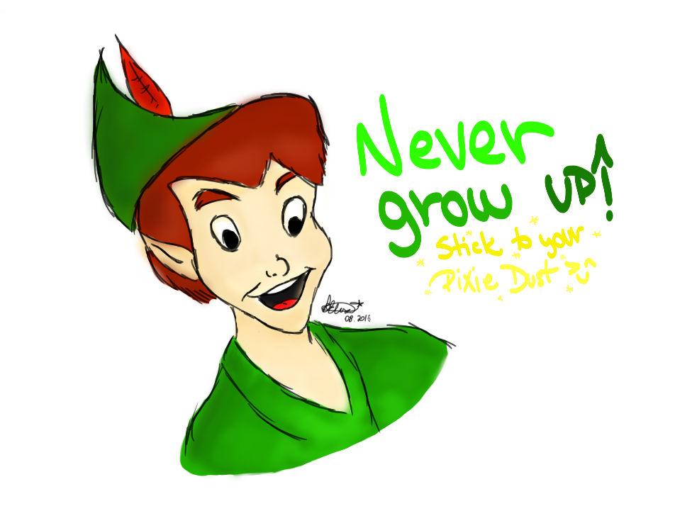 Peter Pan Images Never Grow Up Hd Wallpaper And Background Photos