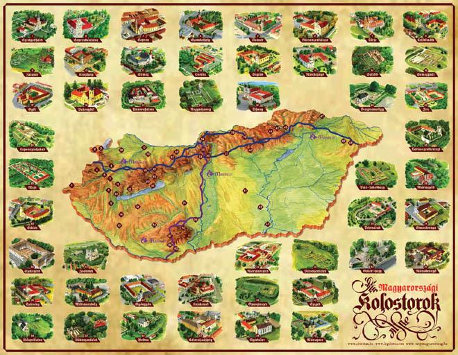 magyarországi várak térkép Várak Magyarországon Térkép | Térkép