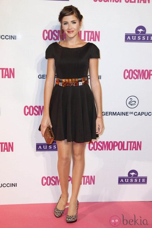 Lucía Ramos en los Premios Cosmopolitan Fun Fearless Female 2012