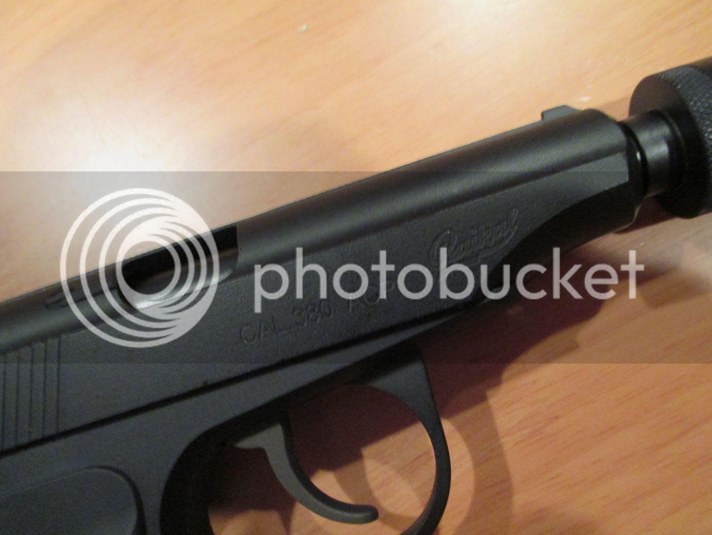 WE Makarov Pistol Right side