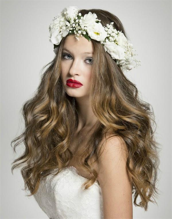 10 Idee Su Capelli Sciolti Capelli Capelli Per Matrimoni Pinterest