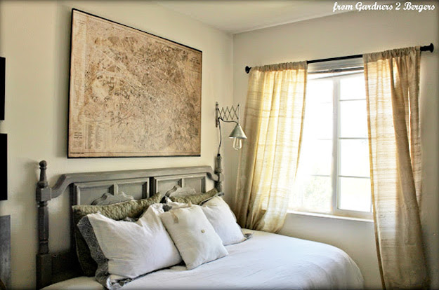 DIY Furniture Store KnockOffs - Do It Yourself Furniture Projects Inspired by Pottery Barn, Restoration Hardware, West Elm. Tutorials and Step by Step Instructions  |   Restoration Hardware Decoupage Map  |   http://diyjoy.com/diy-furniture-store-knockoffs