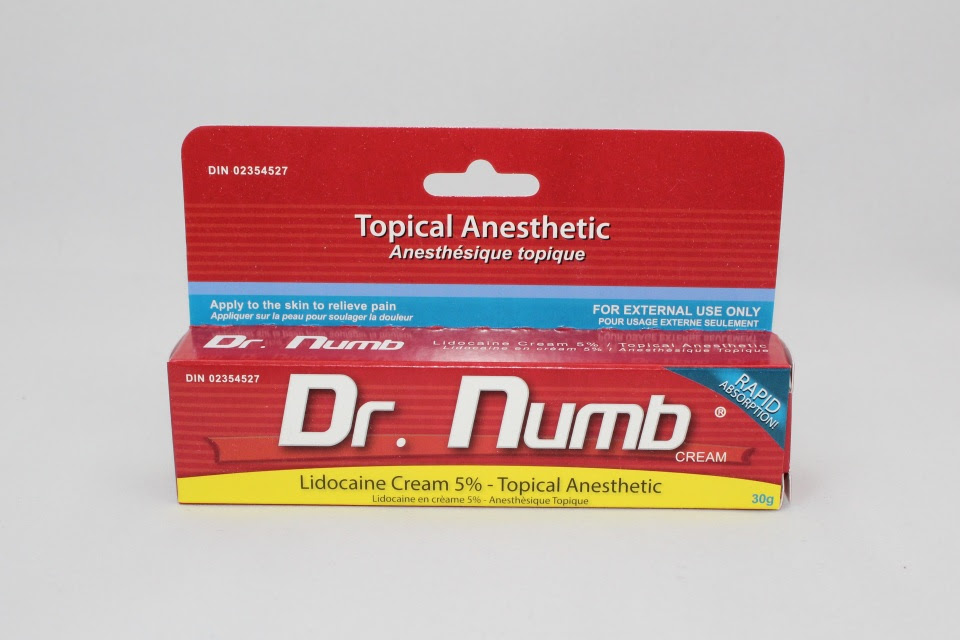 Dr Numb Topical Numbing Cream