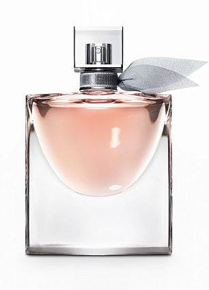 La vie est Belle 'rained' drops of the scent