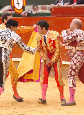 Hemorragia de Pedro Marín. Valencia