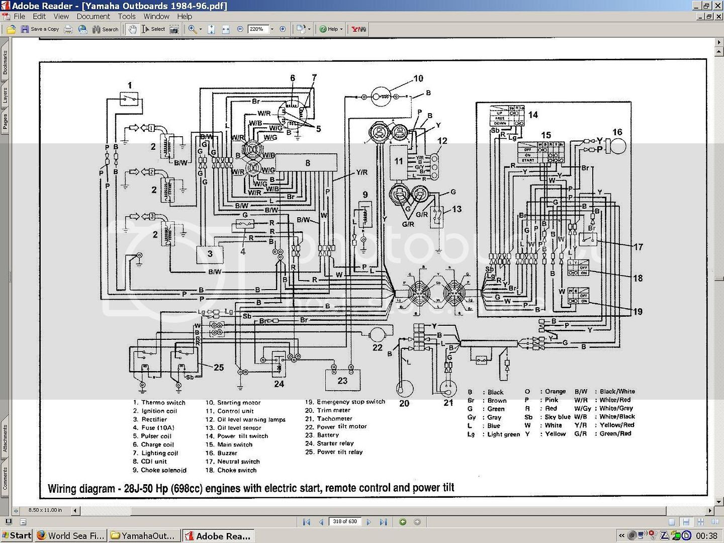40 Hp Mercury Outboard Wiring Diagram