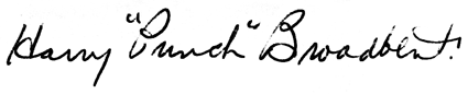 Broadbent autograph photo Broadbentautograph.png