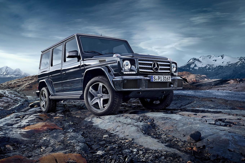 2016 Mercedes-Benz G-Class Receives New 4.0-Liter V-8