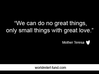 25 Best Inspirational Charity Quotes World Relief Fund Charity