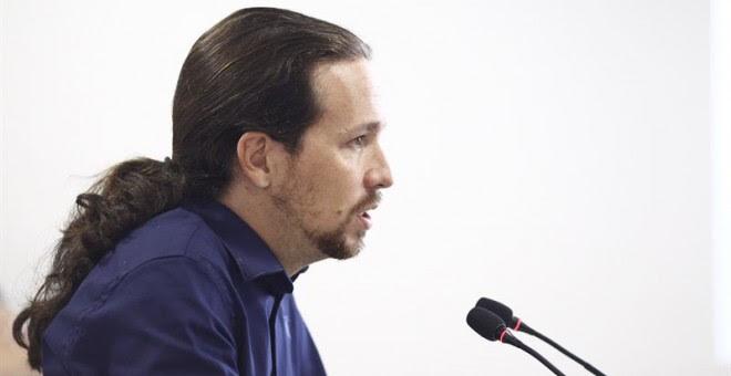 Pablo Iglesias cita mañana a los líderes autonómicos de Podemos para cerrar filas y poner orden tras el cese de Pascual.- EUROPA PRESS
