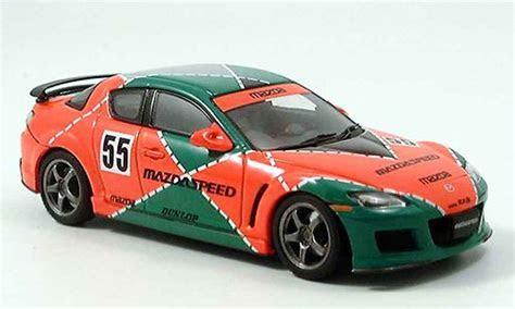 Mazda RX8 miniature Speed RX 8 Le Mans livery verte orange Autoart 1/43   Voiture miniature.com