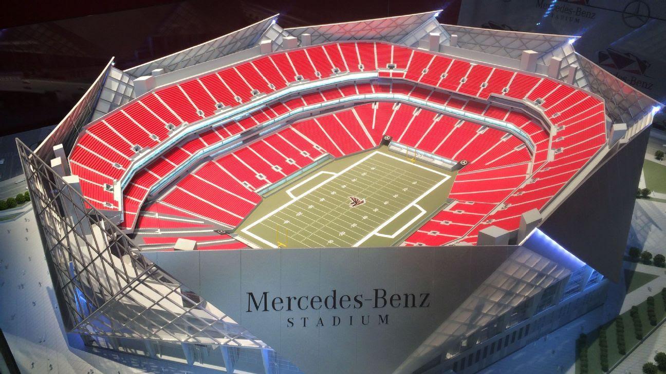 Mercedes-Benz named as sponsor for Atlanta Falcons' new ...