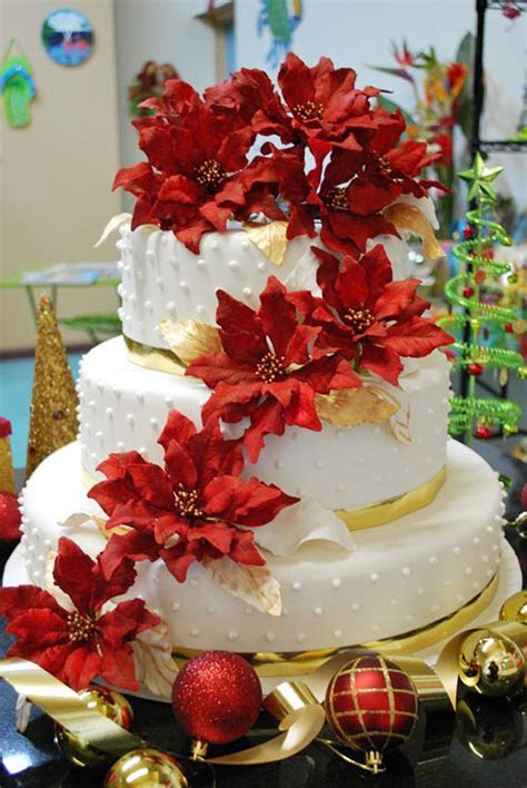 Christmas Wedding Cakes Pinterest Wedding Cake   Cake