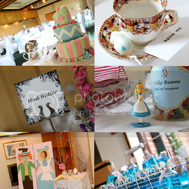 Fabfrocks: Themed Wedding Ideas: Alice In Wonderland