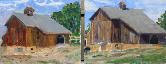 Barn Studies ~ Memory and Direct
