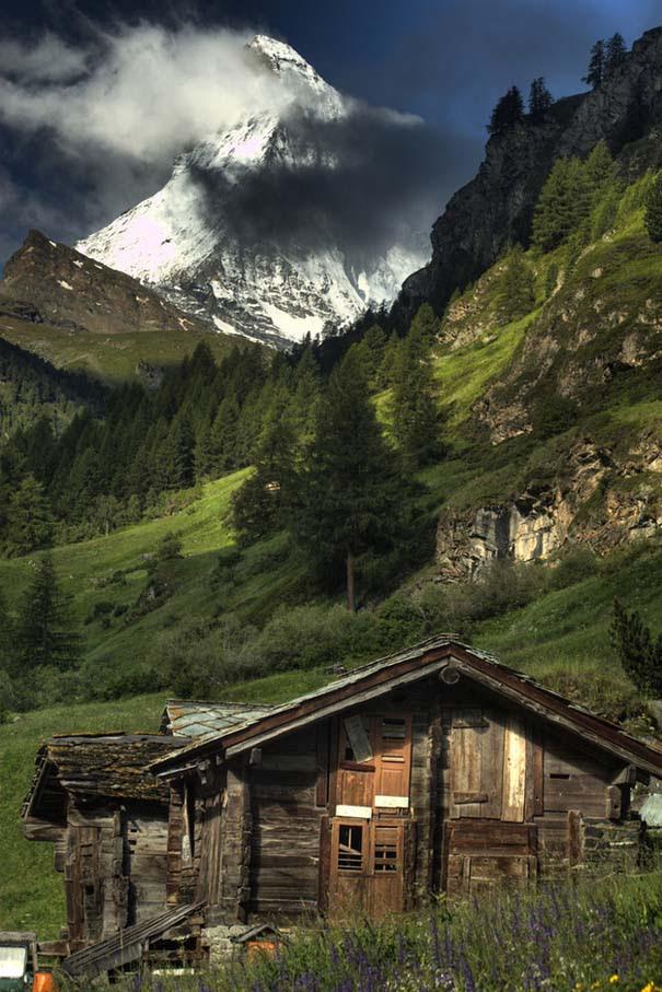 25 παραμυθένια ξύλινα σπίτια στην εξοχή (10)