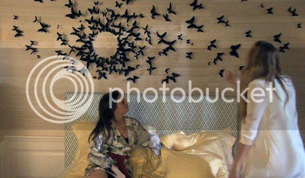 New 3D Black Butterflies Pop Up Wall Sticker Room Decorations Home