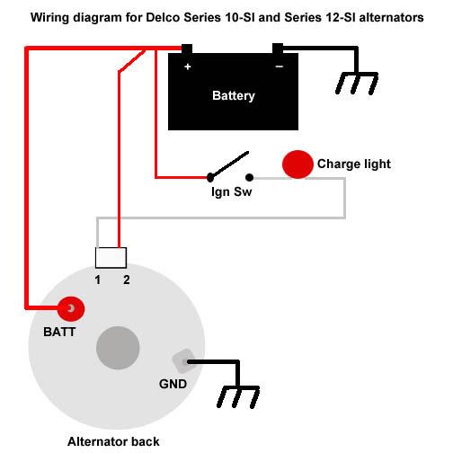 The Delco 10 Si And 12 Si Alternators