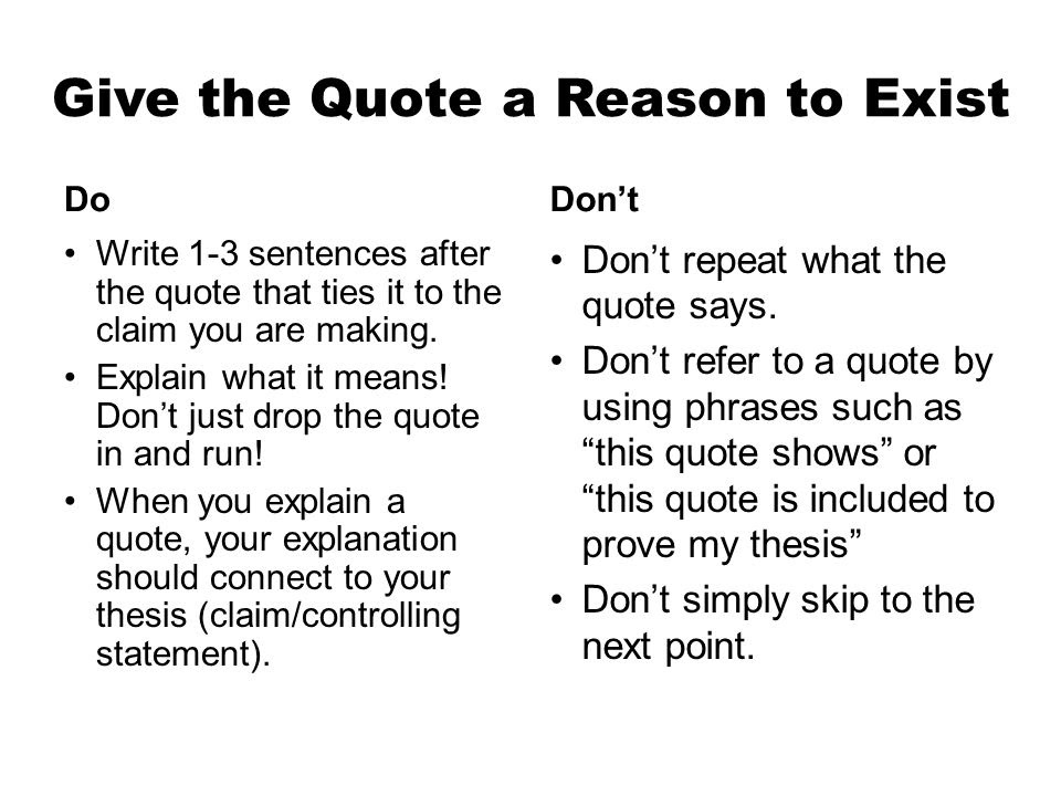 Quotes Essay Integrating Quotes In Your Essays Ppt Video Online An