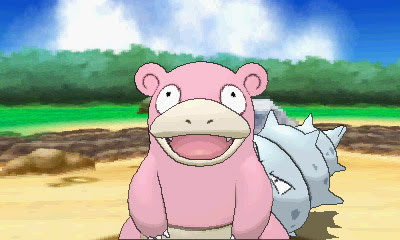 Mega Slowbro joins Pokemon Alpha Sapphire and Omega Ruby
