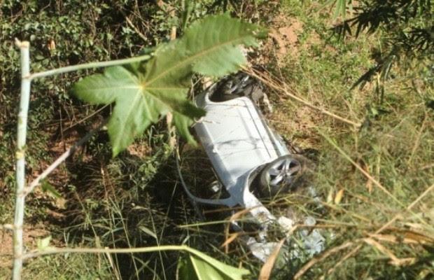 Mulher do comentarista esportivo Adolfo Campos morre em aciente de carro em Goiãnia, Goiás (Foto: Diomício Gomes / O Popular)