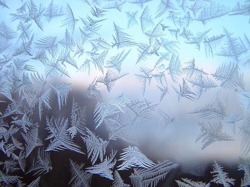 Frost on the window of my grandparents house by roddh.