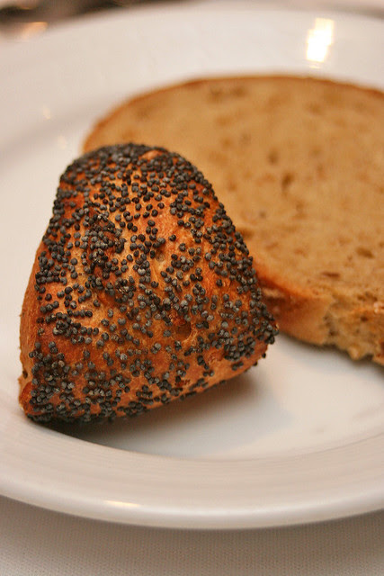 Poppy seed sundried tomato roll