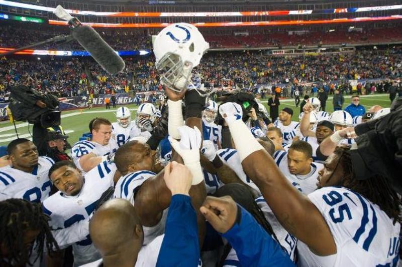 Colts team shot