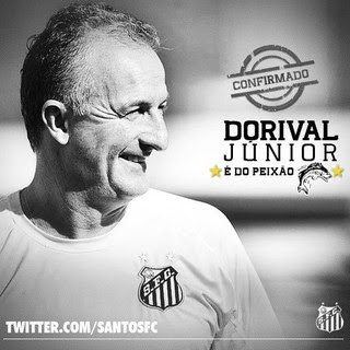 Dorival Júnior é anunciado no Santos (Foto: reprodução / Twitter)