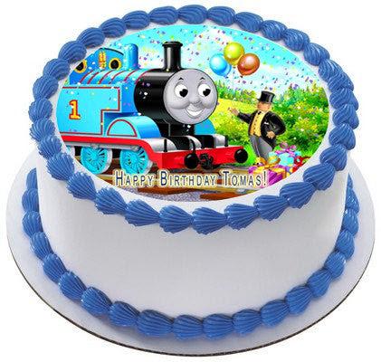 Thomas Train 1 Edible Birthday Cake Or Cupcake Topper Edible