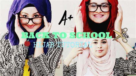 hijab fashion  school