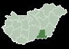 HU condado Csongrad.svg