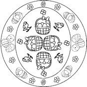 Mandala Fiore Rettangolare Per Adulti Progettazione Di Pagine Del
