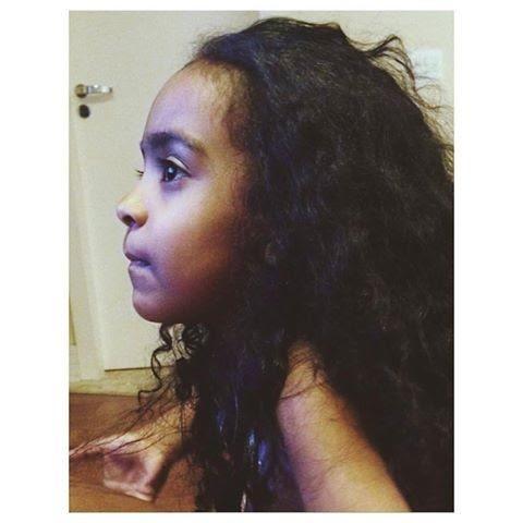 Rafaella, a filha de Renata (Foto: Reprodução - Facebook)