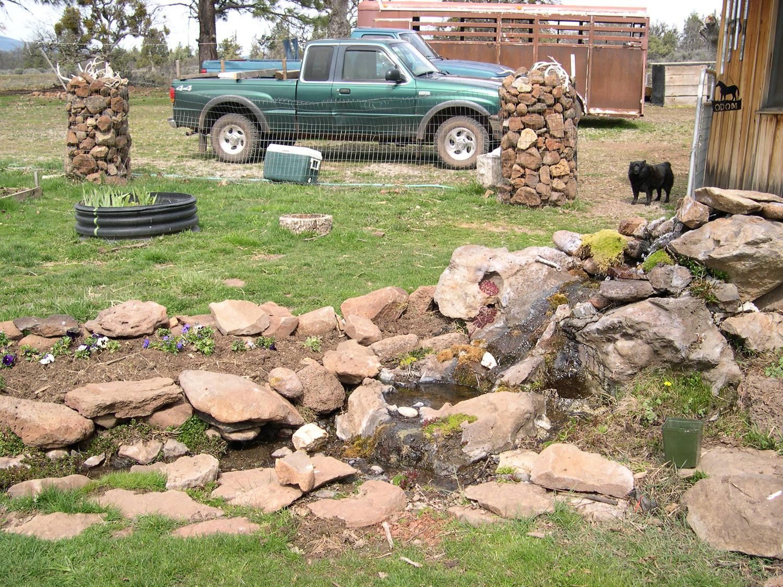 Small Backyard Waterfalls Ideas
