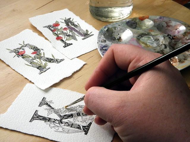 Custom Monogram Artworks