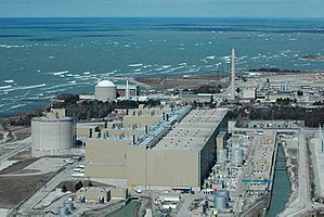 The CANDU Bruce Nuclear Generating Station is ...