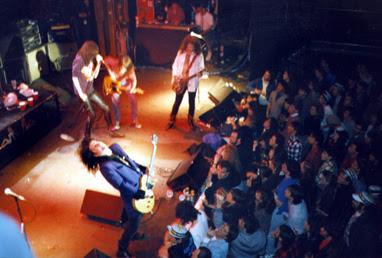 Joey Ramone with Georgia Satellites