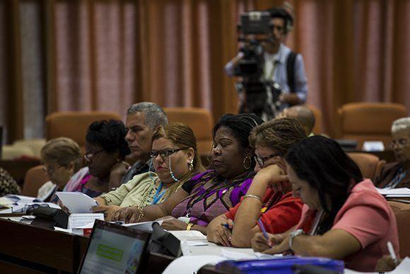 Inicia trabajo en comisiones de la ANPP. Foto: Irene Pérez/ Cubadebate.
