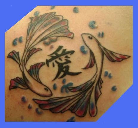 MORE PISCES TATTOOS (CLIPART)