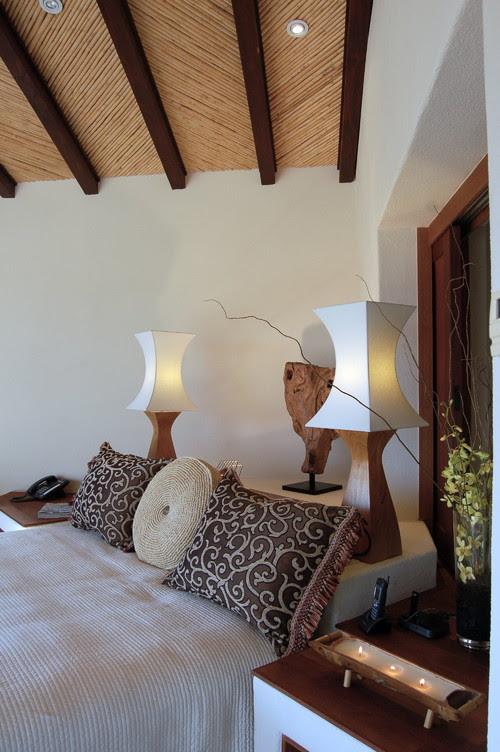 Lori Gilder of Interior Makeovers Inc. tropical bedroom