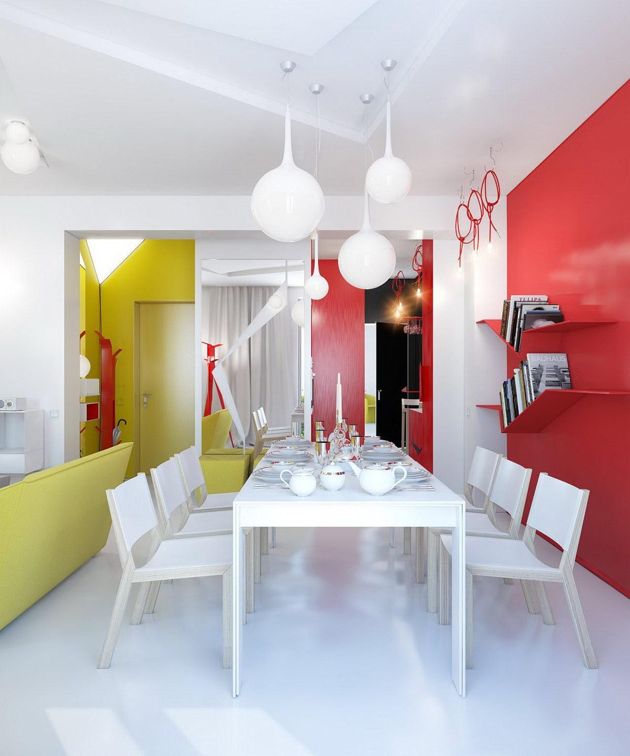 Colorful Nordic Interior Décor