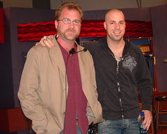Me and Chris Daughtry