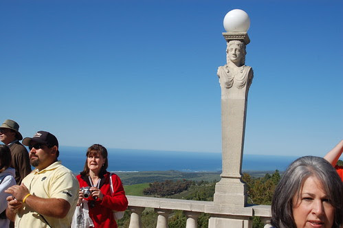 Hearst Castle: Out to the sea